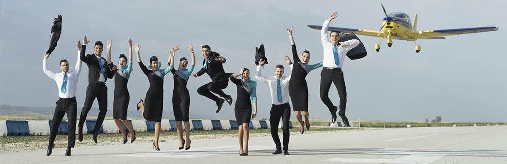 Crew School, ¿volamos?