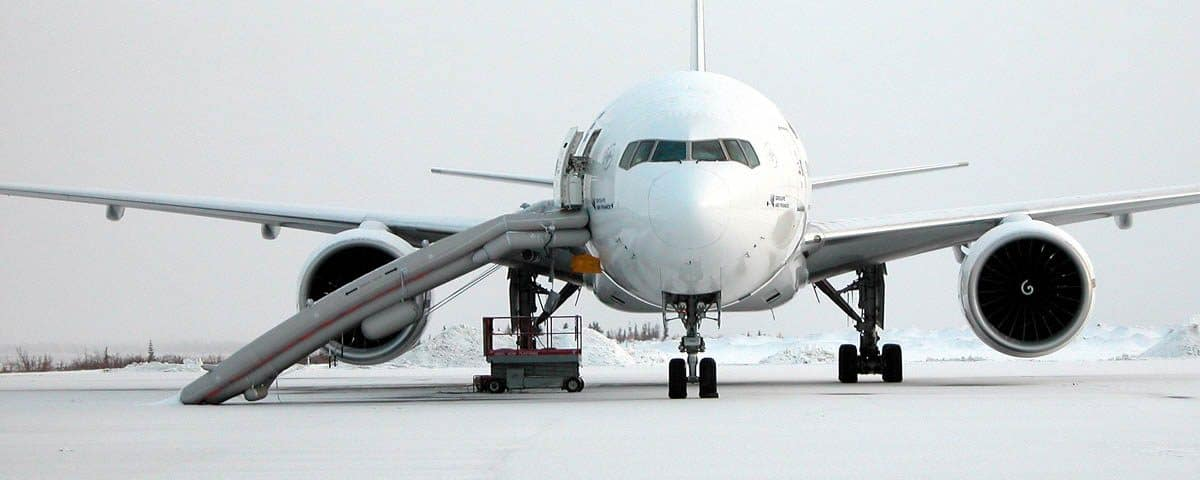 Las rampas de los aviones