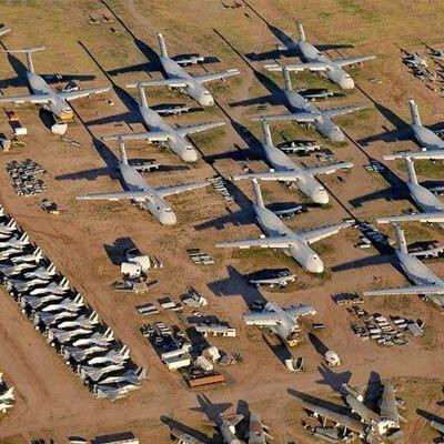 Cementerio de aviones de Teruel | Curiosidades Crew School